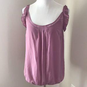 Sheer sleeveless blouse from Ann Taylor Loft
